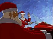 Santa in Totally Spies