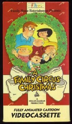 Family Circus Christmas VHS
