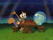 Sandy tells SpongeBob all about Christmas