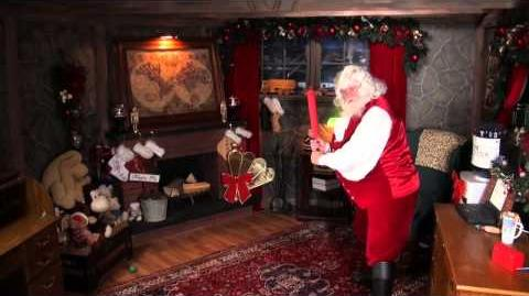 """Santa Claus plays Reindeer Games on """"The Santa Snooper"""" from the elves at emailSanta.com!"""