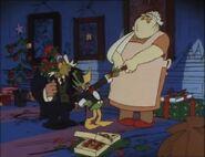 Duckula and Nanny pulls the Cracker