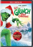 How The Grinch Stole Christmas Grinchmas Edition DVD