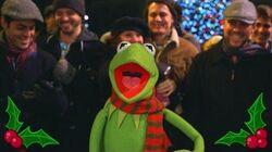 "The Muppets Kermit the Frog Sings ""It Feels Like Christmas"" at Disneyland"