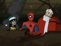Spidey Talks To Santa SSM