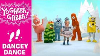 Dancey Dance with Snow Princess - Yo Gabba Gabba!