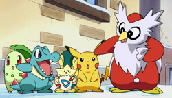 pikachu s winter vacation delibird s dilemma christmas specials