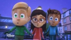 Connor, Amaya and Greg