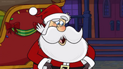Santa Bunsen is a Beast