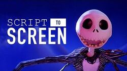 """""""What's This?"""" from The Nightmare Before Christmas Script-to-Screen Disney"""