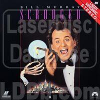 Scrooged 1988 Laserdisc