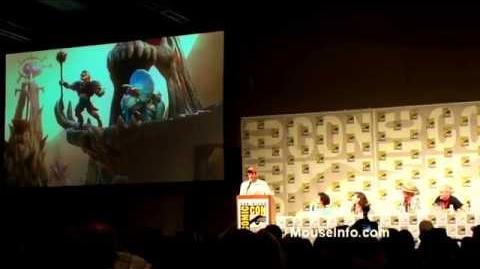 Toy Story That Time Forgot, Full Panel - SDCC 2014