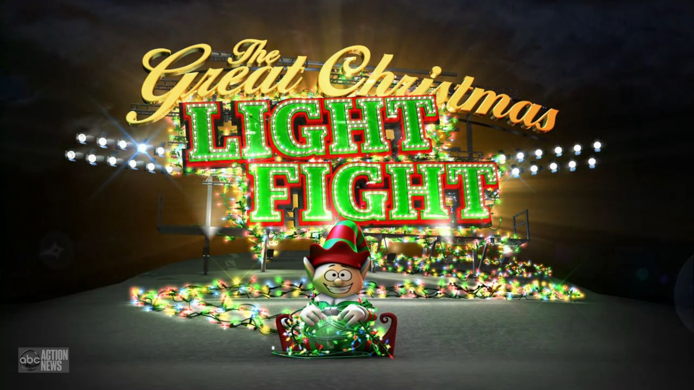 Christmas Light Fight.The Great Christmas Light Fight Christmas Specials Wiki