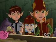 Elf Ben and Elf Gwen