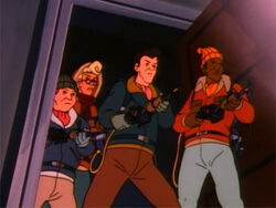 Xmascartoon realghostbusters