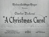 Christmas carol 1938