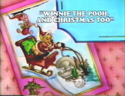Pooh Christmas bumper
