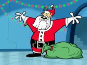 The Chameleon as Santa