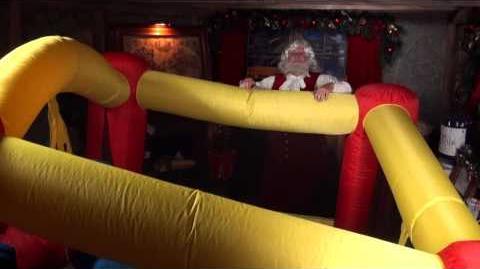 Santa Snooper Webcam Video 006- Bouncy Toy Testers!