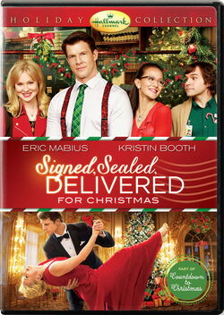 Signed, Sealed, for Christmas DVD