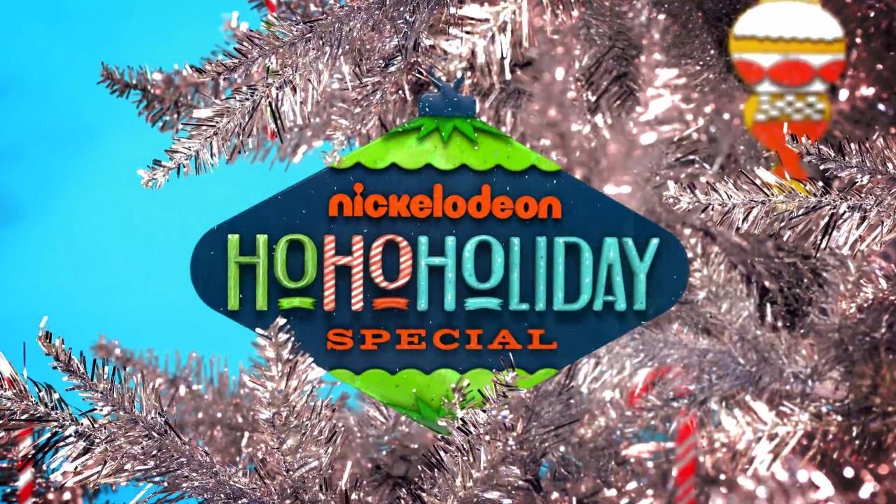Nickelodeon Christmas Specials.Nickelodeon S Ho Ho Holiday Special Christmas Specials
