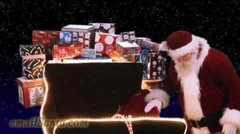 🎅 Santa & cookies. Presents & sleigh. Christmas Eve! 09 00 SCT*