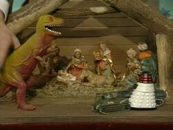 Merry Christmas Mr Bean Dalek