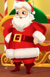 Santa Claus in Shimmer and Shine