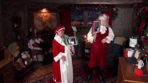 Santa Snooper Webcam Video 017 - Reindeer Games - Go, Reindeer, Go!