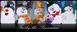 Frosty the Snowman through years