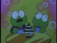 Keroppi's parents on Christmas Day