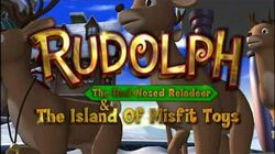 Rudolph The Red Nosed Reindeer and The Island of Misfit Toys-Rudolph The Red Nosed Reindeer(English)