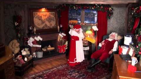 Santa Snooper Webcam Video 014- Tickle Me Santa