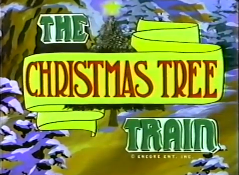 Tree Train Christmas