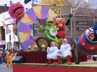 2011 Toronto Santa Claus Parade float b