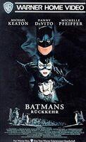 Batman Returns VHS 1992