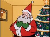 Santa in Dexter's Lab