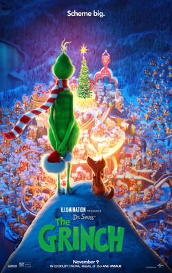 The Grinch latest movie poster