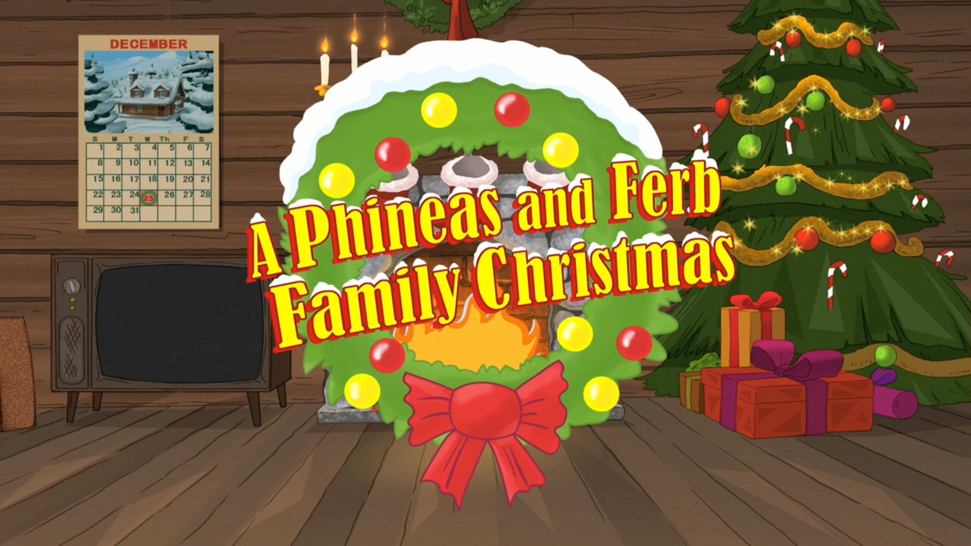 Image - A Phineas and Ferb Family Christmas Title Card.jpg ...