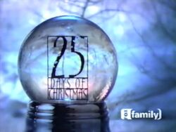25 Days of Christmas logo from 2000