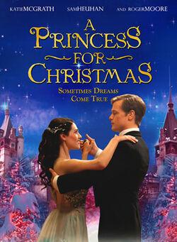 A princess for christmas poster