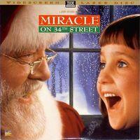 MiracleOn34thStreet1994 Laserdisc