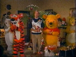 Eisner with Pooh and Friends