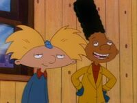 Arnold and Gerald happy