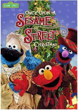 Once Upon a Sesame Street Christmas DVD