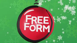 Freeform Christmas logo