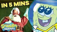 """SpongeBob """"Christmas Who?"""" Holiday Special 🎅 in 5 Minutes!"""