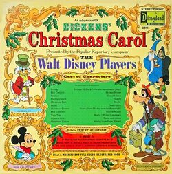 Disney Christmas Carol Record