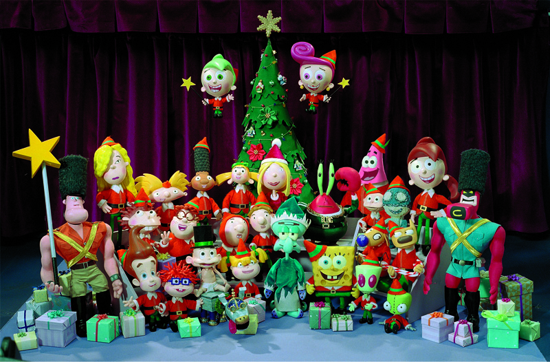 Nickelodeon Christmas Specials.Merry Nickmas Shorts Christmas Specials Wiki Fandom