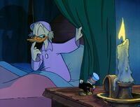 Scrooge thought Jiminy would be taller