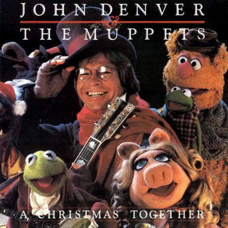 John Denver Christmas.John Denver And The Muppets A Christmas Together Album